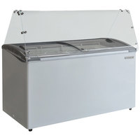 Beverage-Air BDC-8 50 inch Ice Cream Dipping Cabinet