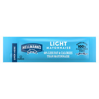 Hellmann's Light Mayonnaise 10.6 Gram Portion Packets - 210/Case