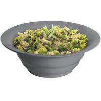 Tablecraft CW3120GR 10 Qt. Granite Cast Aluminum Wide Rim Salad Bowl
