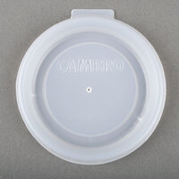 Cambro CLAM8B5190 Disposable Translucent Lid for Bowls, Mugs, and Tumblers - 2000 / Case