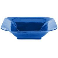 Tablecraft CW3520CBL Cobalt Blue Cast Aluminum 8 Qt. Square Bowl