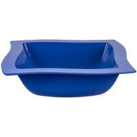 Tablecraft CW3690CBL 4 Qt. Cobalt Blue Cast Aluminum Euro Square Bowl