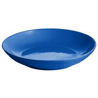 Tablecraft CW3150CBL 3.5 Qt. Cobalt Blue Cast Aluminum Pasta Bowl