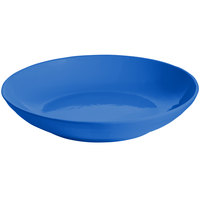 Tablecraft CW3160CBL 5.5 Qt. Cobalt Blue Cast Aluminum Pasta Bowl