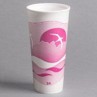 Dart 24LX16H 24 oz. Horizon Foam Cup - 500/Case