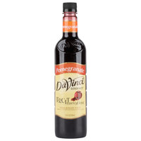DaVinci Gourmet 750 mL Pomegranate Fruit Innovations Cold Beverage Flavoring / Fruit Syrup
