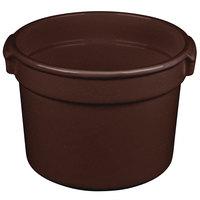 Tablecraft CW1310MIS 11 Qt. Midnight Speckle Cast Aluminum Bain Marie Soup Bowl
