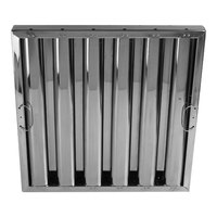 All Points 26-4591 16 inch(H) x 25 inch(W) x 2 inch(T) Stainless Steel Hood Filter - Kleen-Gard