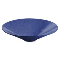 Tablecraft CW13090BS 4.5 Qt. Blue Speckle Cast Aluminum Round Bowl with Rings