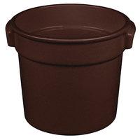 Tablecraft CW1300MIS 7 Qt. Midnight Speckle Cast Aluminum Bain Marie Soup Bowl