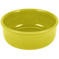 Homer Laughlin 576332 Fiesta Lemongrass 22 oz. China Chowder Bowl - 6/Case