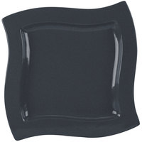 Tablecraft CW3650MBS 13 inch Square Midnight with Blue Speckle Cast Aluminum Euro Platter
