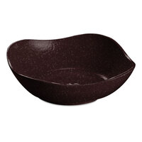 Tablecraft CW12080MS 1.5 Qt. Midnight Speckle Cast Aluminum Wavy Square Bowl