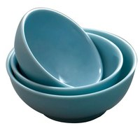 Blue Jade 54 oz. Round Melamine Soup Bowl - 12/Case