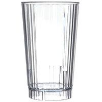 Carlisle 4363807 Lafayette 16 oz. Clear Plastic Tumbler - 36/Case