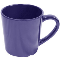 Thunder Group CR9018BU Smooth Melamine 7 oz. Purple Mug - 12/Case