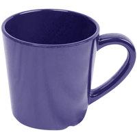 Smooth Melamine 7 oz. Purple Mug - 12/Case