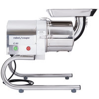 Robot Coupe C80 Stainless Steel Continuous Feed Automatic Sieve / Juicer - 120V