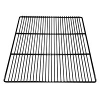 True 918765 Black Coated Wire Shelf - 23 1/4 inch x 19 inch