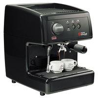 Nuova Simonelli MOP140D204-BLACK PODS Black Oscar Professional Espresso Machine for Pods - Direct Connection, 110V