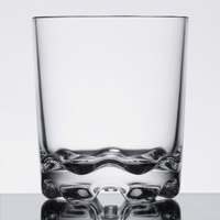 Thunder Group PLTHRG012C 12 oz. Plastic Rocks Glass