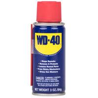 WD-40 490002 3 oz. Handy Can Spray Lubricant - 12/Case