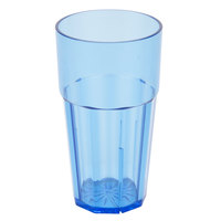 Diamond 10 oz. Blue Polycarbonate Tumbler - 12/Case