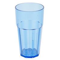 Diamond 12 oz. Blue Polycarbonate Tumbler - 12/Case