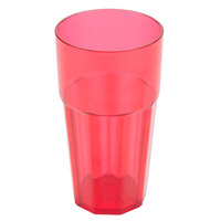 Diamond 20 oz. Red Polycarbonate Tumbler - 12/Case