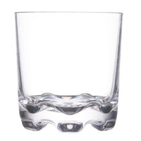 Thunder Group PLTHRG010C 10 oz. Plastic Rocks Glass