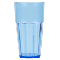 Diamond 24 oz. Blue Polycarbonate Tumbler - 12/Case