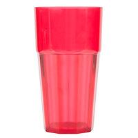 Diamond 24 oz. Red Polycarbonate Tumbler - 12/Case