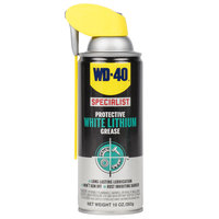 WD-40 Specialist 10 oz. Protective White Lithium Grease with Smart Straw - 6/Case