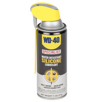 WD-40 Specialist 11 oz. Water Resistant Silicone Lubricant Spray with Smart Straw - 6/Case