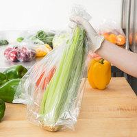 Inteplast Group PB100824M 10 inch x 8 inch x 24 inch Plastic Food Bag - 500/Case