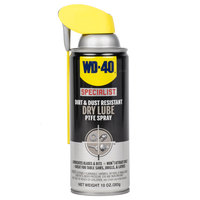 WD-40 Specialist 10 oz. Dirt & Dust Resistant Dry Lube PTFE Spray - 6/Case