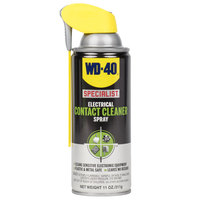 WD-40 Specialist 11 oz. Electrical Contact Cleaner Spray - 6/Case