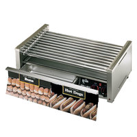 Star Grill Max 50CBD-CSA 50 Hot Dog Roller Grill with Chrome Plated Rollers and Bun Drawer (Canadian Use Only)