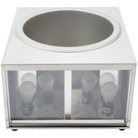 Star 11WLA 11 Qt. Heat & Serve Lighted Nacho Cheese Warmer / Nacho Cheese Dispenser - 1600W