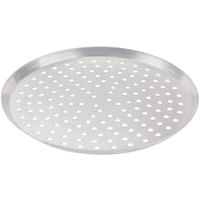 American Metalcraft CAR13P 13 inch Perforated Heavy Weight Aluminum Cutter Pizza Pan