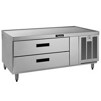 Delfield F2660 60 inch Two Drawer Freezer Chef Base