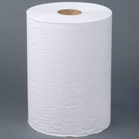 Lavex Janitorial White 10 inch Roll Towel Hardwound 800' Roll - 6 / Case