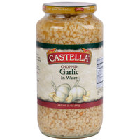 Castella 32 oz. Chopped Garlic in Water - 12/Case