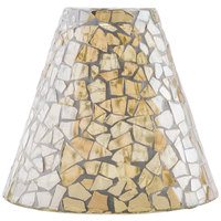 Sterno Products 85462 Light Gold Mosaic Lamp Shade