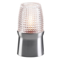 Sterno Products 85110 Brushed Silver Lamp Base