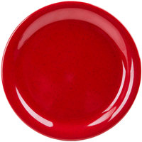 GET NP-7-RSP Red Sensation 7 1/4 inch Narrow Rim Plate - 48/Case