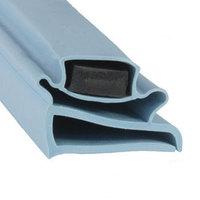 Delfield 1702009 Equivalent Magnetic Door Gasket - 23 1/8 inch x 59 5/16 inch