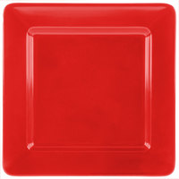 GET ML-12-RSP Red Sensation 12 inch x 12 inch Square Deep Plate - 12/Case
