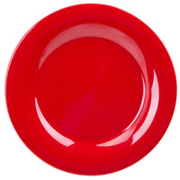 GET WP-10-RSP Red Sensation 10 1/2 inch Wide Rim Plate - 12/Case