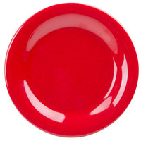 GET WP-6-RSP Red Sensation 6 1/2 inch Wide Rim Plate   - 48/Case